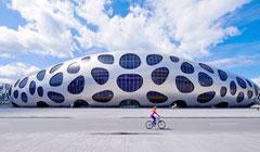 ساخت استادیوم سلولی شکل در بلاروس
