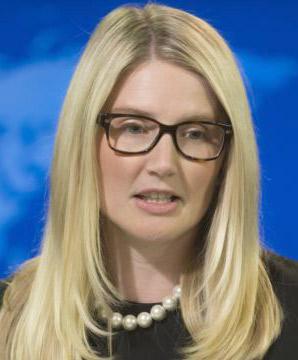 مری هارف، سخنگوی وزارت امور خارجه آمریکا