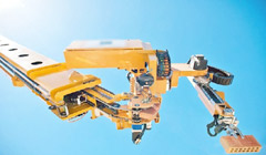 ربات آجرچینی که در دو روز خانه میسازد!