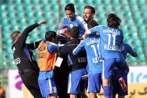 استقلال تهران، سپاهان را 3-0 شكست داد