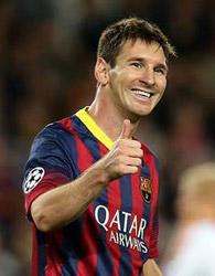 پیروزی بارسلونا با هنرنمايي مسي