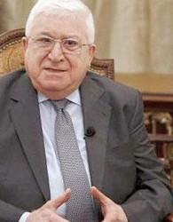 طرح رئیس جمهور عراق برای حل بحران