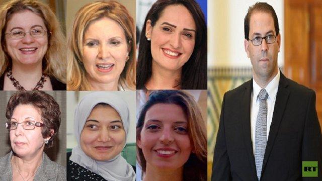 حضور چشمگیر زنان در کابینه جدید تونس