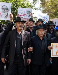 نگرانی از چهرههای عجیبِ راهپیمایی جمعه