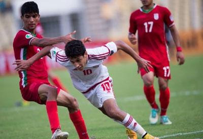 تساوی نوجوانان ایران با امارات
