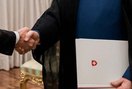 دیپلمات اقتصاددان سوئیسی در تهران