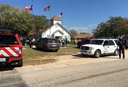 حمله خونين به یک کلیسا در تگزاس