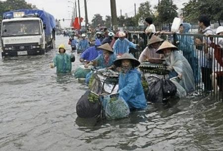 سیل در ویتنام 27 کشته برجاگذاشت