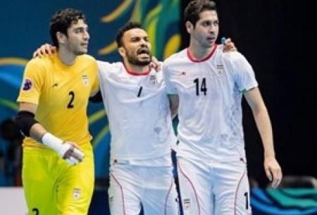 فوتسال ایران قهرمانی آسیا را تكرار كرد