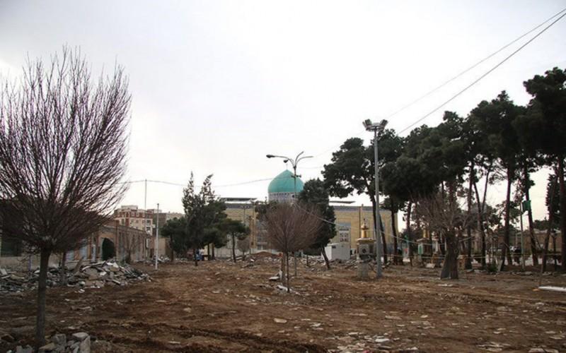 تخریب گورستان امامزاده عبدالله شهرری