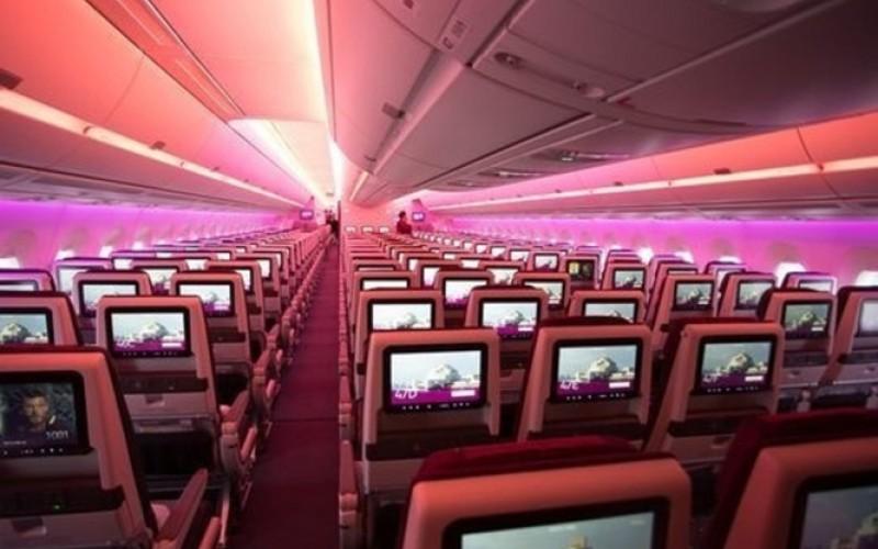 امکانات هواپیمایی که تحویل قطر شد