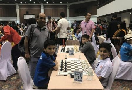 شطرنجبازان نوجوان ایران 5 مدال کسب کردند