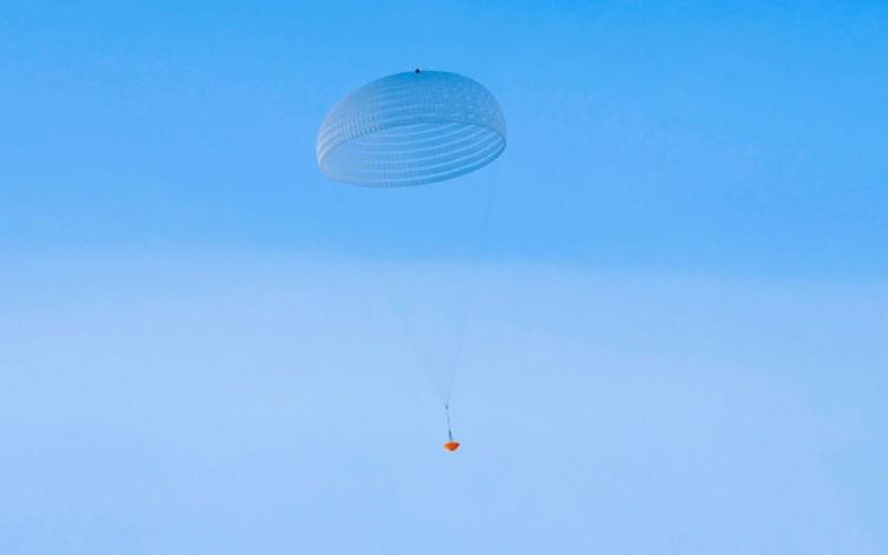 آزمایش چتر نجات مریخی غولپیکر