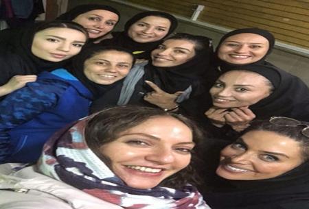 مهناز افشار در جمع ملی پوشان فوتسال/عکس