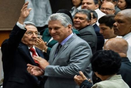 میگل دیاز کنل رییس جموری کوبا شد