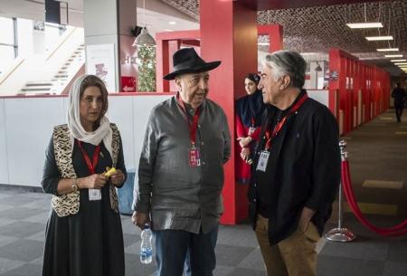 هنرمندان در اولین روز جشنواره جهانی فیلم