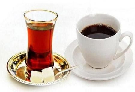 کاهش ریسک سکته با نوشیدن قهوه و چای