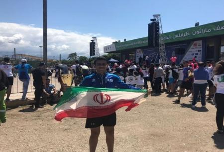 دونده ایرانی قهرمان دوی ماراتن لبنان شد
