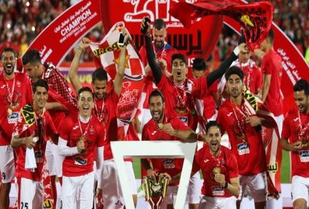 مراسم اهدای جام قهرمانی پرسولیس
