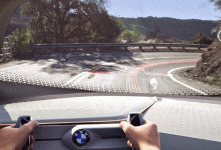سه بعدی شدن خودروهای خودران «بی ام و»
