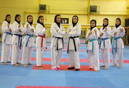 دختران ایران با شایستگی قهرمان کاراته آسیا شدند