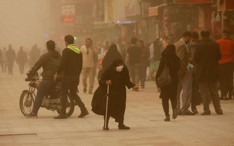 خوزستان گرد و خاکی است