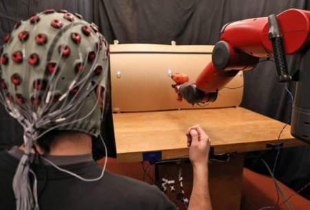کنترل رباتها با سیگنالهای مغز