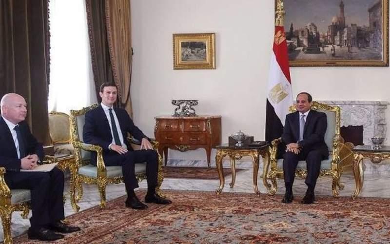 """رایزنی آمریکا، قطر و مصر درباره """"معامله قرن"""""""