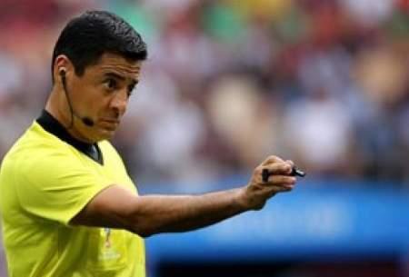 فغانی در رده دوم برترین داوران جام جهانی