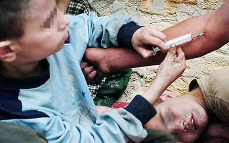 شیوع اعتیاد در کودکان بین سنین ۸ تا ۱۱ سال