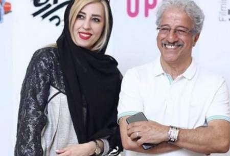 علیرضا خمسه در کنار همسر جوانش/عکس