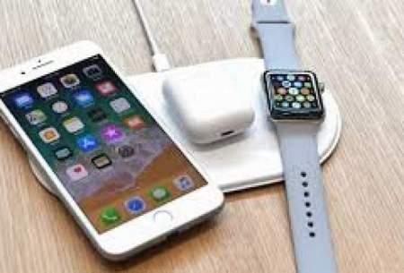 مجهز شدن اپل به شارژ میاندستگاهی