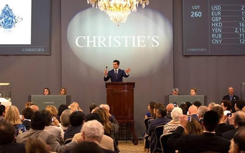 رکورد فروش حراجی «کریستیز» شکست