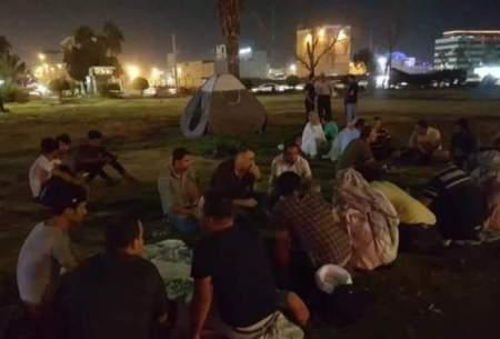 ادامه اعتراضات ضد دولتی در بصره عراق