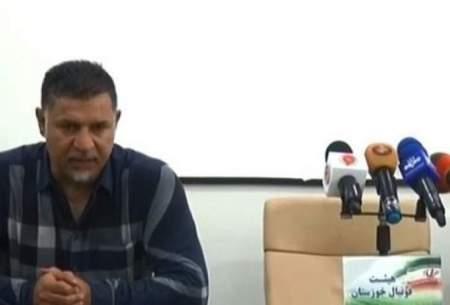 حرکت عجیب علی دایی در کنفرانس خبری