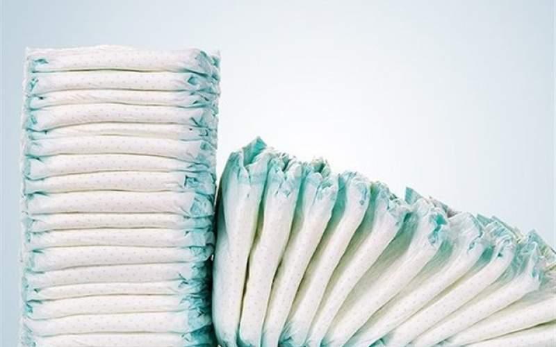 وضعیت سفید پوشک و دستمال کاغذی
