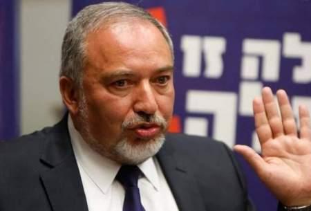 وزیر جنگ اسراييل استعفا داد