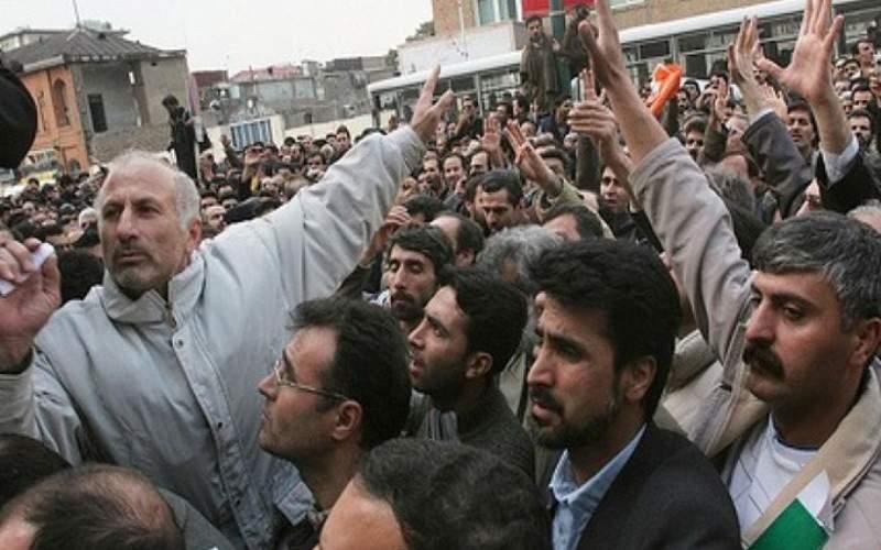 اعتراضات کارگران هفتتپه جمعه هم ادامه یافت
