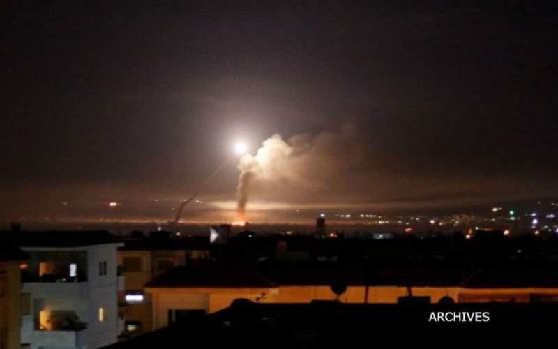 حمله هوايي گسترده اسرائیل به حومه دمشق