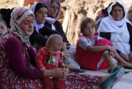 استقبال فرانسه از زنان ایزدی و فرزندان آنها