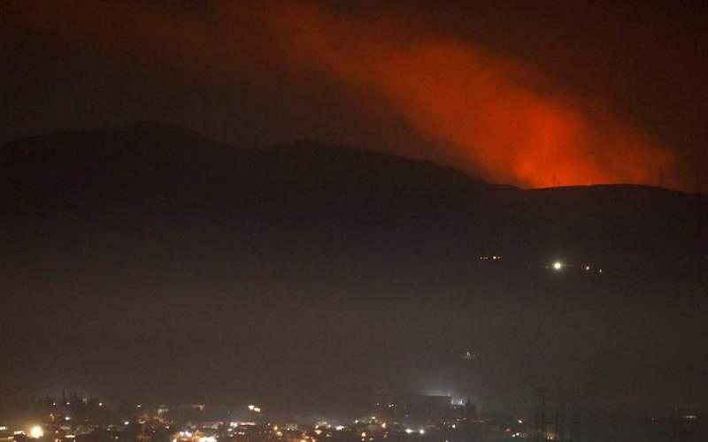 حمله هوایی اسرائیل به چند پایگاه در اطراف دمشق