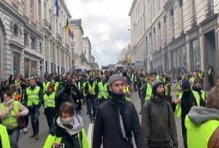 اعتراضات جلیقه زردها به انگلیس رسید