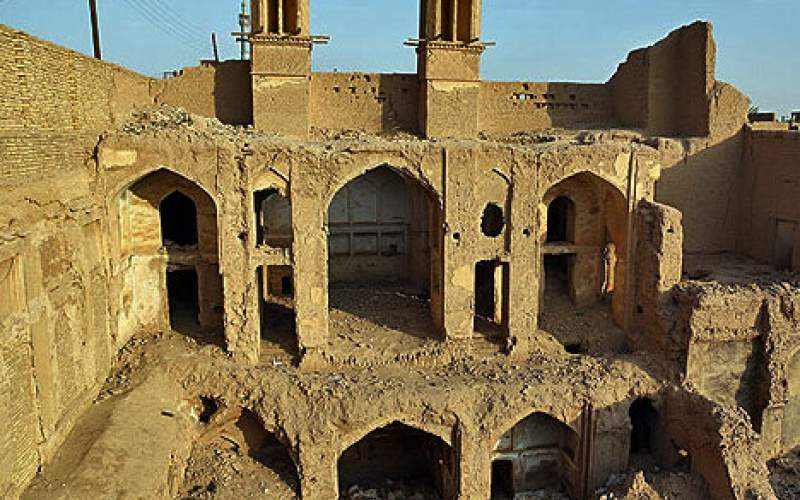 آبگرفتگی عمدی در بافت تاریخی یزد!