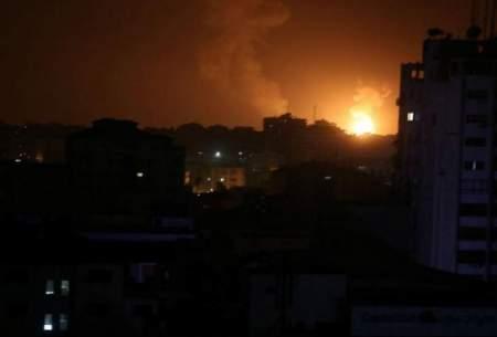 حمله اسراييل به ۱۰۰ موضع حماس در عزه