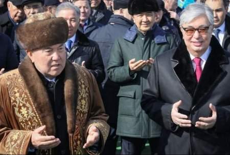 قاسم جومرت توکایف در کنار نورسلطان نظربایف