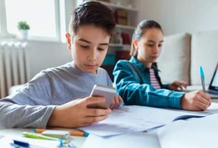 تاثیر مثبت ممنوعیت ورود موبایل به مدرسه