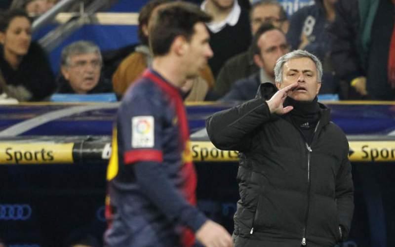 ژوزه مورینیو؛ مسی خدای فوتبال است