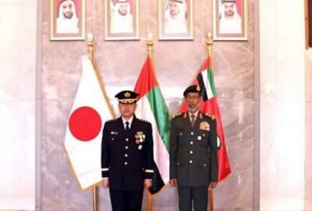 همکاری نظامی بین امارات و ژاپن