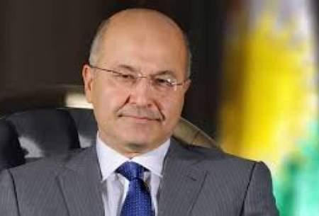 برهم صالح: عراق پایگاه حمله به ایران نمیشود