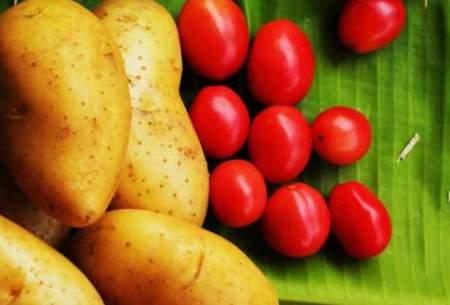 تورم سیبزمینی و گوجه؛ نزدیک به ۳۰۰درصد!